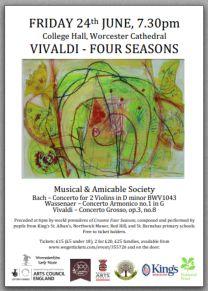 Vivaldi Event Poster